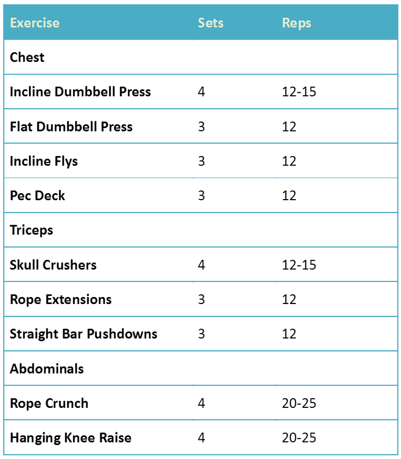 workout plan pdf